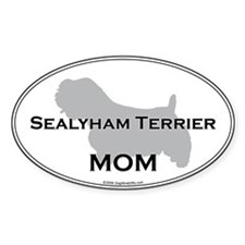 Sealyham Terrier MOM Oval Decal