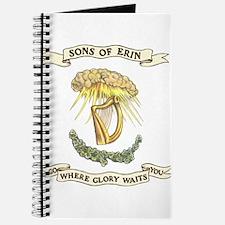 Sons of Erin Sun Rays Harp Journal
