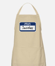 Hello: Jacoby BBQ Apron