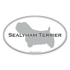 Sealyham Terrier Oval Decal