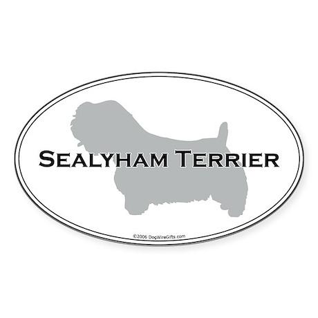 Sealyham Terrier Oval Sticker
