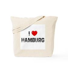 I * Hamburg Tote Bag