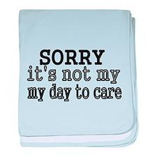 Sorry baby blanket