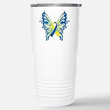 Unique Down syndrome Travel Mug
