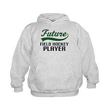 Future Field Hockey Player Hoodie