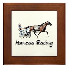 Unique Race horse Framed Tile