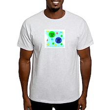 I LOVE YOU MORE Ash Grey T-Shirt