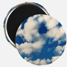 """Fluffy Clouds Print 2.25"""" Magnet (100 pack)"""