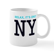 NY Iconic New York BlueBlack Relax Mug