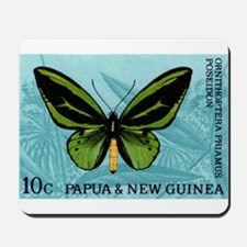 1966 New Guinea Green Birdwing Butterfly Stamp Mou