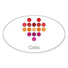 I Heart Celia Bumper Stickers