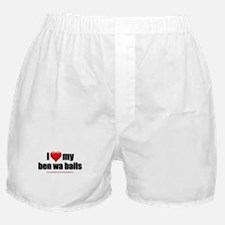 """Love My Ben Wa Balls"" Boxer Shorts"