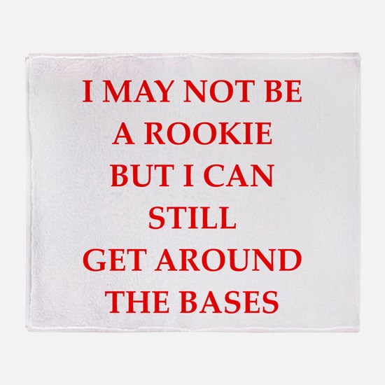rookie Throw Blanket
