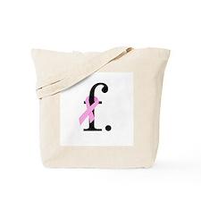 F. Breast Cancer Tote Bag