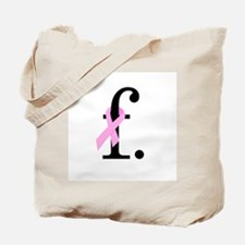 F. Breast Cancer Tote Bag