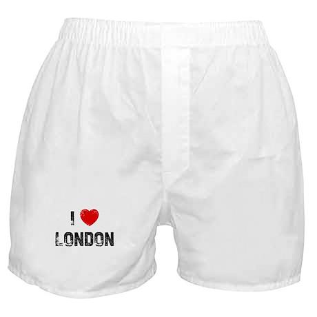 I * London Boxer Shorts