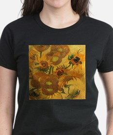 Sunflowers by Van Gogh T-Shirt