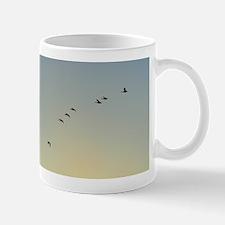 Geese Descending Mug