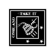 Come and Take It - Black Diamond - Sticker 3""