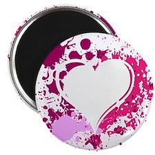 Splattered Heart Magnet