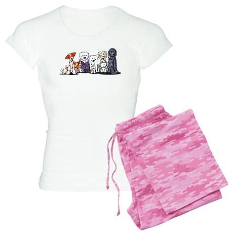 Usual Suspects Women's Light Pajamas