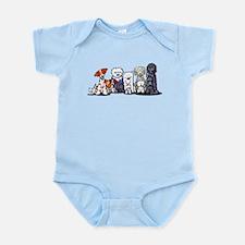 Usual Suspects Infant Bodysuit