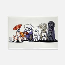 Usual Suspects Rectangle Magnet (100 pack)