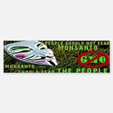 Fear the People Bumper Bumper Bumper Sticker