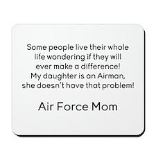 AF Mom No Prob Daughter Mousepad