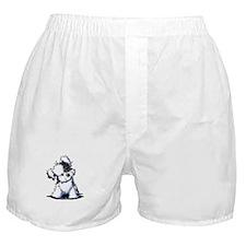 Curious BW Havanese Boxer Shorts