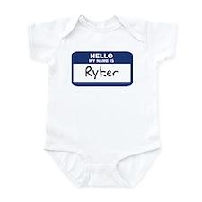 Hello: Ryker Infant Bodysuit