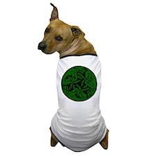 Celtic rond Green Dog Dog T-Shirt