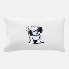 B/W Havanese Cutie Pillow Case