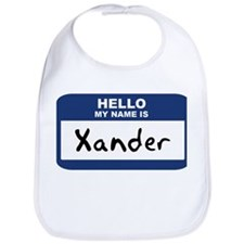 Hello: Xander Bib