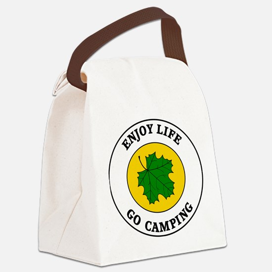 camping5.png Canvas Lunch Bag