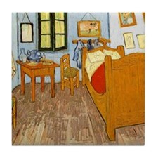 Chambre in Arles Tile Coaster