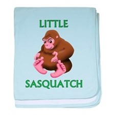 LITTLE SASQUATCH baby blanket