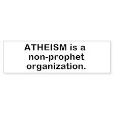 Non-Prophet Organization Bumper Sticker