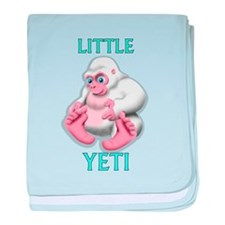 littl yeti shadow baby blanket