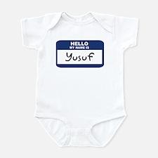 Hello: Yusuf Infant Bodysuit
