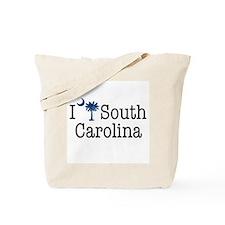 I Love South Carolina Tote Bag