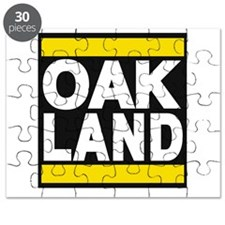 oakland yellow Puzzle