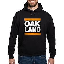 oakland orange Hoodie