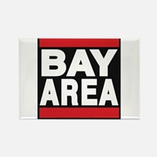 bayarea red Rectangle Magnet