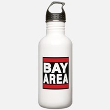 bayarea red Water Bottle