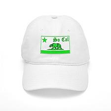 so cal bear green Baseball Baseball Cap