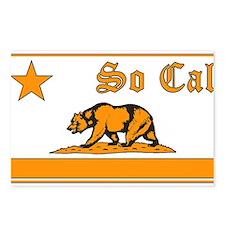 so cal bear orange Postcards (Package of 8)