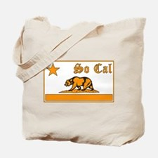 so cal bear orange Tote Bag