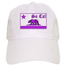 so cal bear purple Baseball Baseball Cap