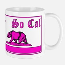 so cal bear pink Mug